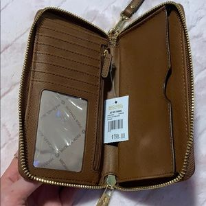 Michael Kors Wallet with wrist strap NWT